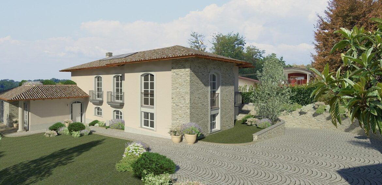 Lussuosa villa con piscina Lago Maggiore